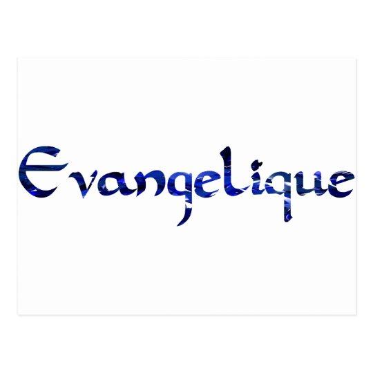 Bleu de Evangélique Postal
