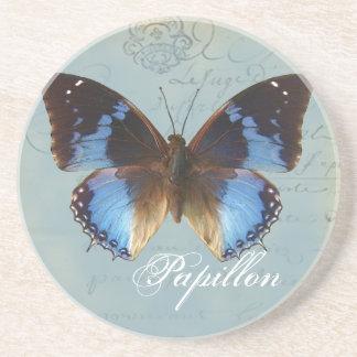 Bleu de Papillon Posavasos Cerveza