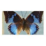 Bleu de Papillon Tarjeta De Negocio