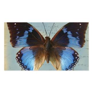 Bleu de Papillon Tarjetas De Visita