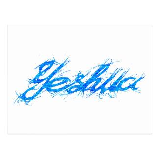 Bleu. de Yeshua Elfont Postal