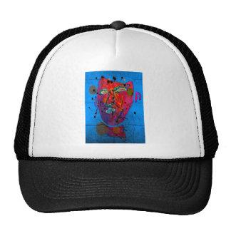 bleu del d'homme del masque gorras de camionero