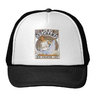 Bleu Deschamps by Alphonse Mucha Trucker Hat
