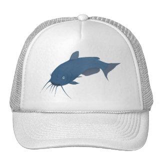 Bleu Fishe gato azul Gorro De Camionero