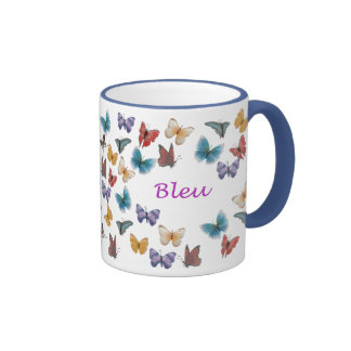 Bleu Ringer Coffee Mug