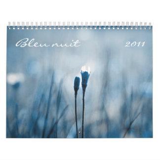 Bleu nuit 2011 calendar