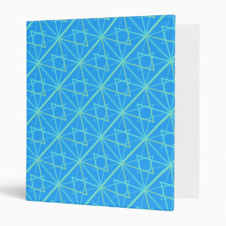 bleu patterns vinyl binder