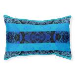 bleu pet bed