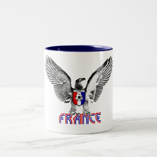 Bleus 2010 de Les del fútbol de Francia Tazas De Café