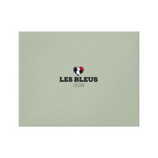 Bleus 2016 del EM Les Francia Impresiones En Lona Estiradas