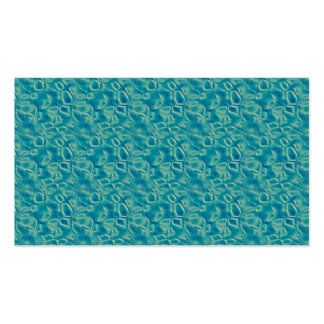 blgr089  PEARLY BLUES GREENS PATTERNS WATER FANTAS Business Card Template