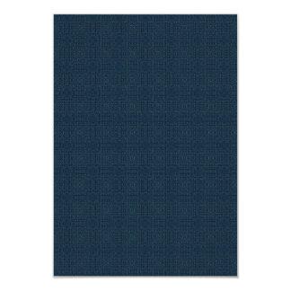 blgr107 NAVY BLUE SQUARES JEANS BACKGROUNDS PATTER Card