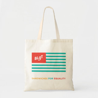BLgT Flag Tagline Budget Tote Bag