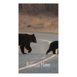 BLHI Black Bears on Highway Double-Sided Standard Business Cards (Pack Of 100)