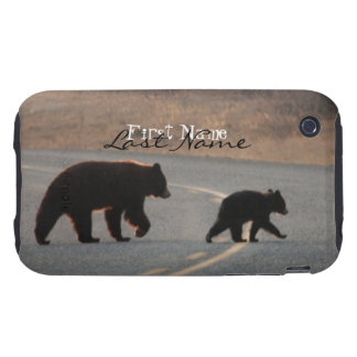 BLHI Black Bears on Highway iPhone 3 Tough Case