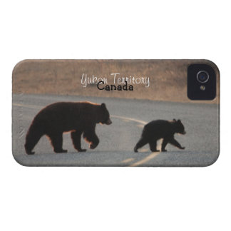 BLHI Black Bears on Highway iPhone 4 Case-Mate Case