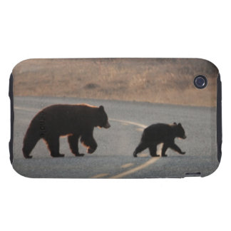 BLHI Black Bears on Highway Tough iPhone 3 Cases