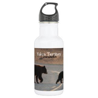 BLHI Black Bears on Highway Water Bottle