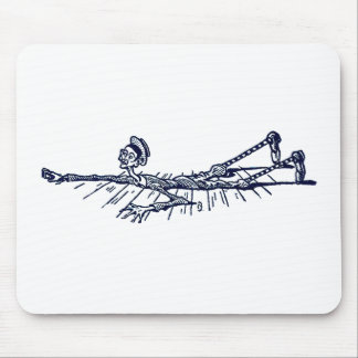 Blib Crawls Across the Floor Mouse Pad