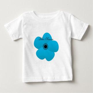 Blight Blue Holiday Season Flower Gift Baby T-Shirt