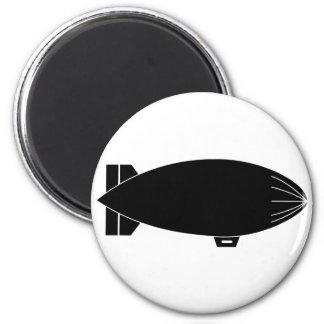 Blimp 2 Inch Round Magnet
