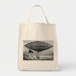 Blimp Airship Dirigible Vintage Flying Machine Bags