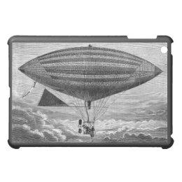 Blimp Airship Dirigible Vintage Flying Machine iPad Mini Cover