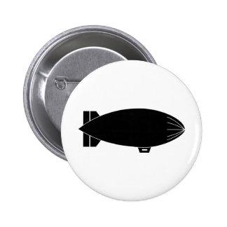 Blimp Pinback Button