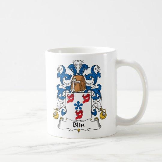 Blin Family Crest Coffee Mug