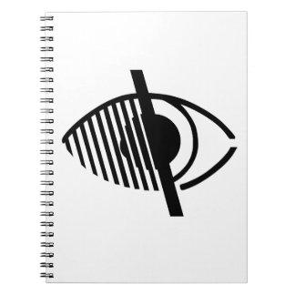 Blind Access Symbol Notebook