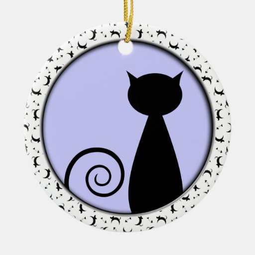 Blind Cat Rescue & Sanctuary Christmas Tree Ornaments