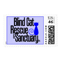 Blind Cat Rescue & Sanctuary Postage Stamps
