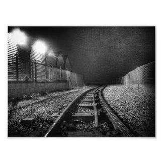 Blind Curve Photo Print