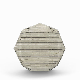 Blind Damaged Texture Horizontal Strips Acrylic Award