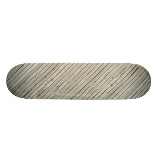 Blind Damaged Texture Horizontal Strips Skateboard