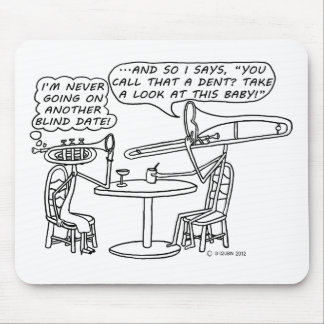 Blind Date Mouse Pad