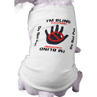 Blind Dog - Do Not Pet Tee
