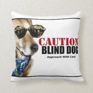 Blind Dog Pillow