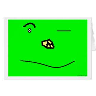Blind Eye Greeting Card
