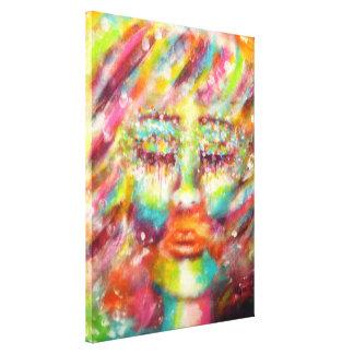 """""""Blind Faith"""" Art By Victoria Lynn Hall Gallery Wrap Canvas"""