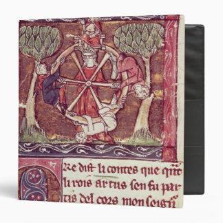 Blind goddess Fortune with King Arthur Binder