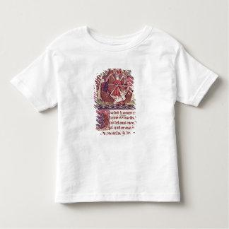 Blind goddess Fortune with King Arthur Toddler T-shirt