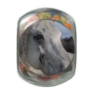 Blind Horse Glass Jars