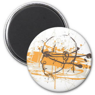 Blind Justice 2 Inch Round Magnet