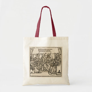 Blind Justice, Court of fools, Tote Bag