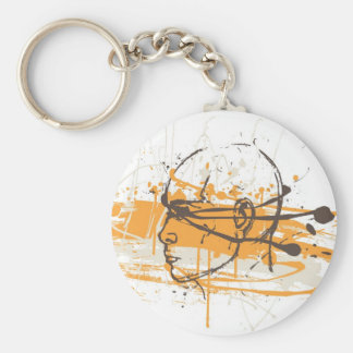 Blind Justice Keychain