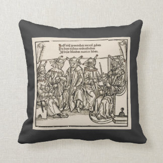 Blind Justice, the court of Fools Pillow