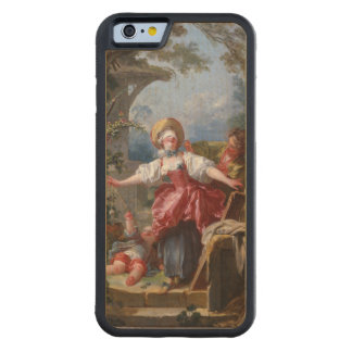Blind-Man's Bluff by Jean-Honore Fragonard Carved Maple iPhone 6 Bumper Case