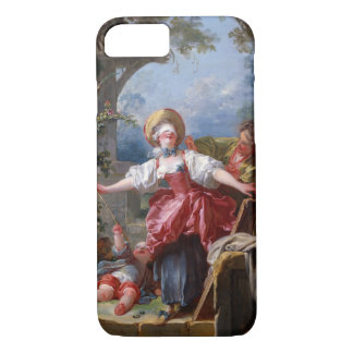 Blind-Man's Bluff by Jean-Honore Fragonard iPhone 8/7 Case