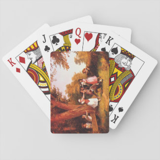 Blind Man's Bluff', Ludwig_Groups and Figures Playing Cards